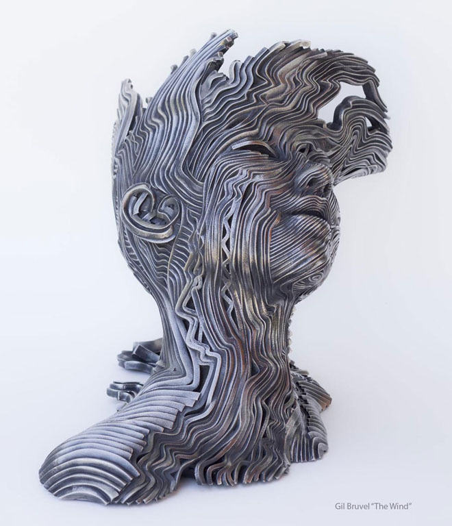 22 Creative Human Figure Metal Sculptures Composed Of