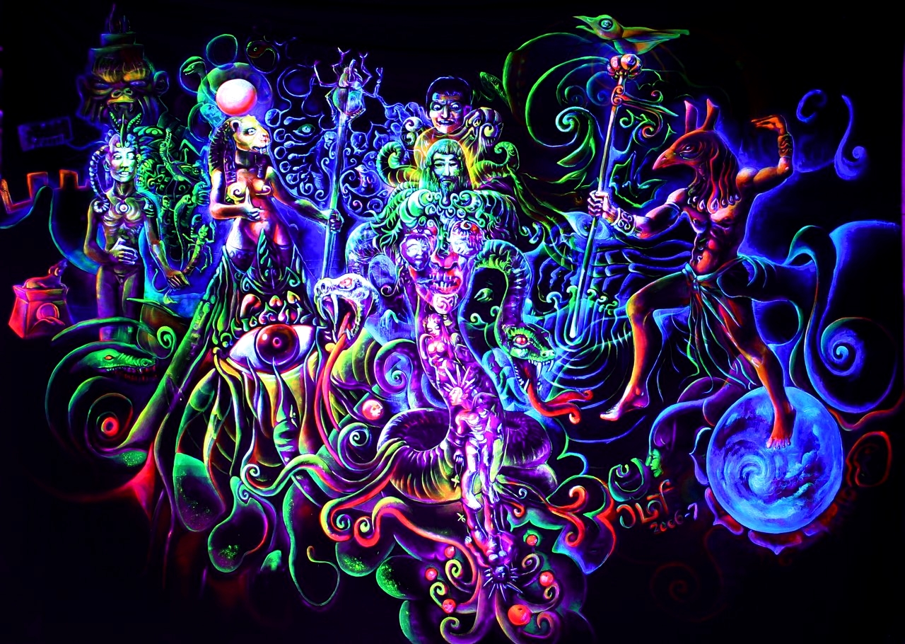 Art of Weed – Colorful World – World of Arts - photo#17