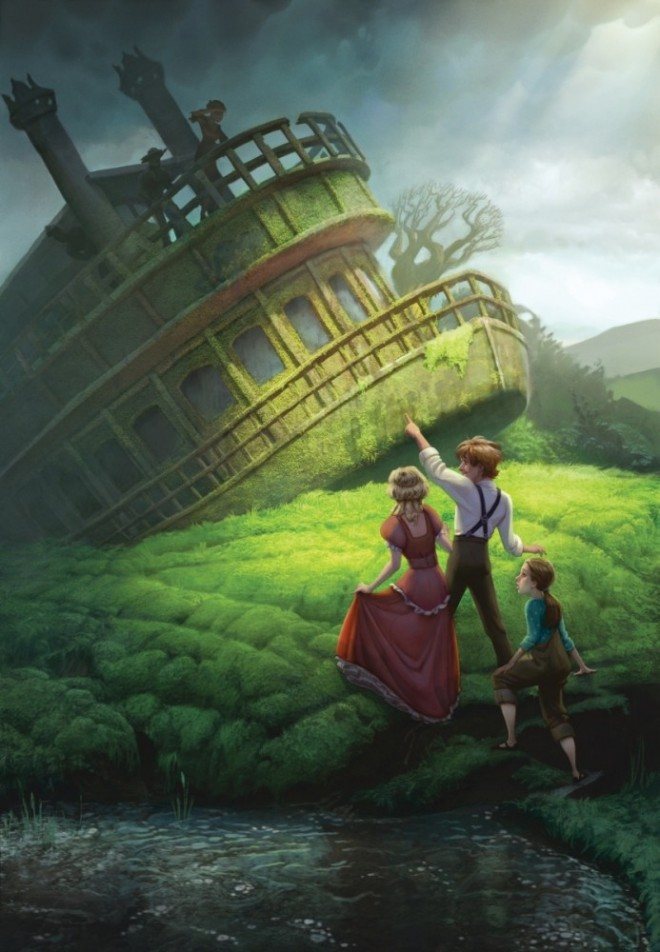 stunning photoshop digital paintings and background designs by