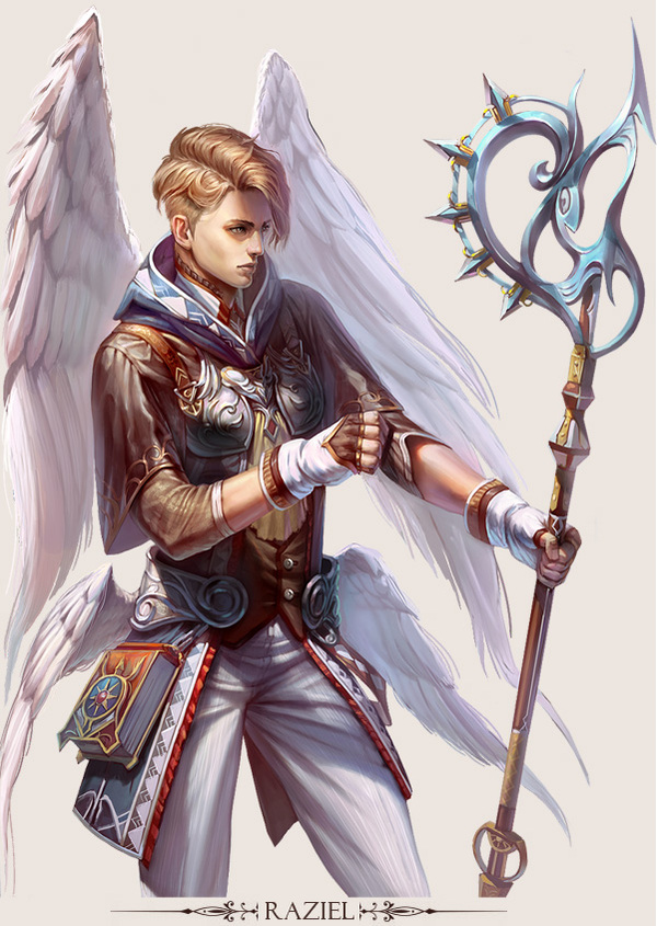 Game Design Character Art : Stunning game character designs and fantasy digital art