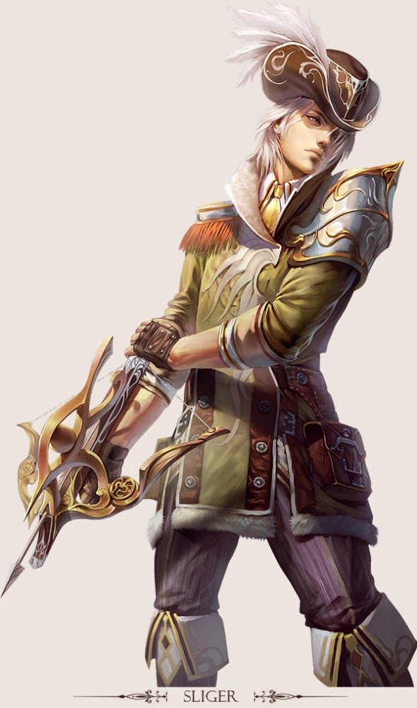 The Character Design : Stunning game character designs and fantasy digital art