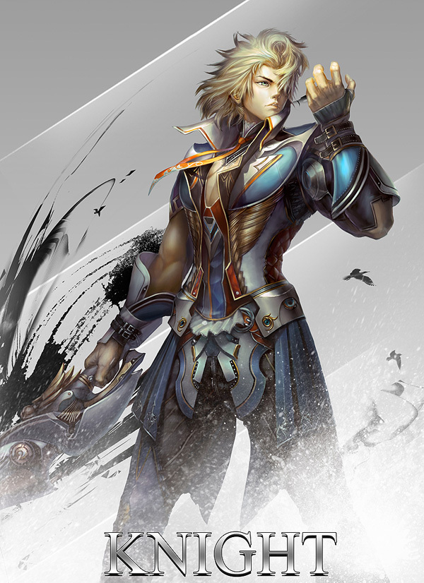 Anime Fantasy Character Design : Stunning game character designs and fantasy digital art