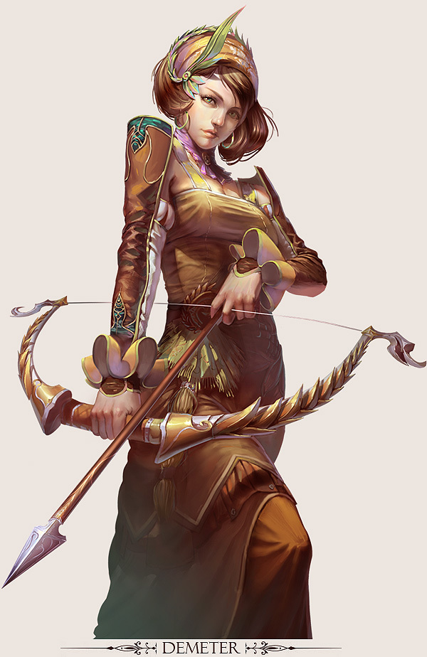 Character Design By Illustrator : Stunning game character designs and fantasy digital art