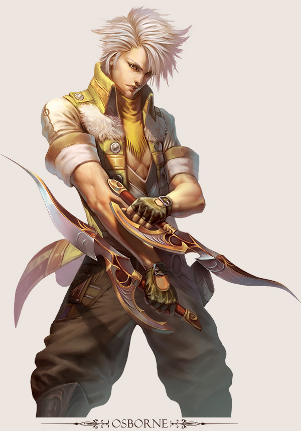 Character Design Artwork : Stunning game character designs and fantasy digital art