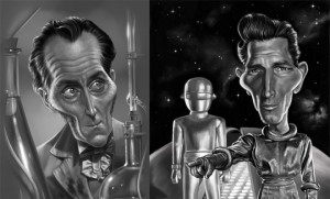 Digital Paintings and caricatures