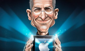 Steve Jobs Digital Paintings