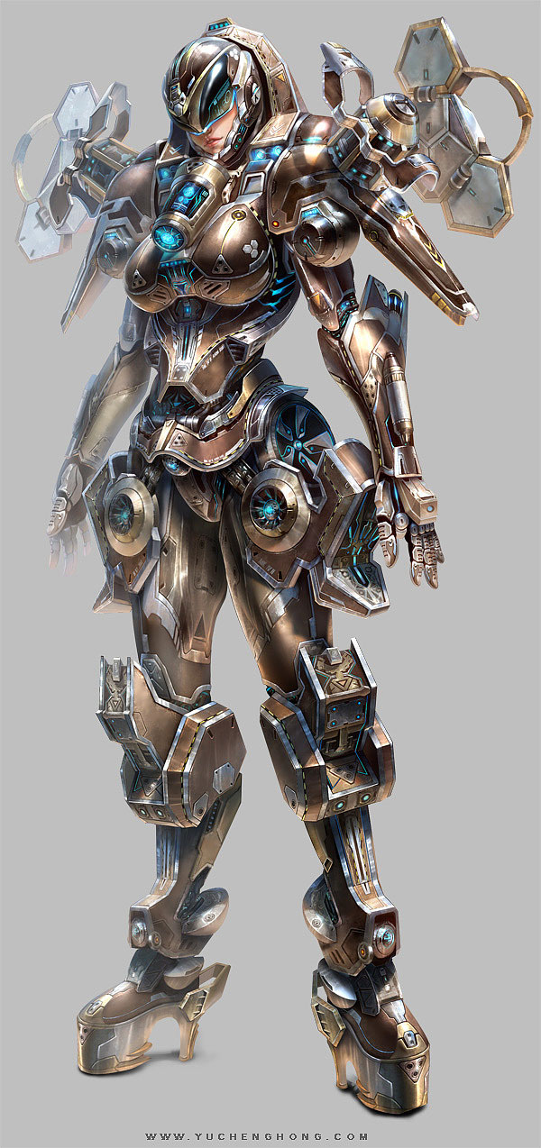 Game Design Character Artist : Mind blowing digital art works and fantasy character
