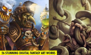 Digital Fantasy Art works