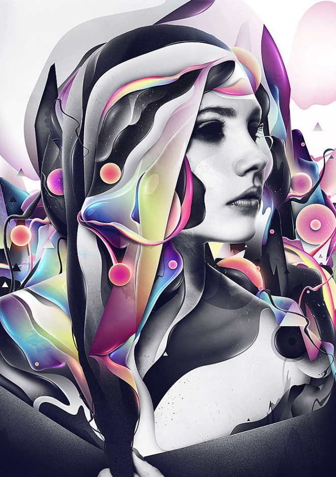Art Design Pictures : Abstract graphic illustrations and photo manipulations by