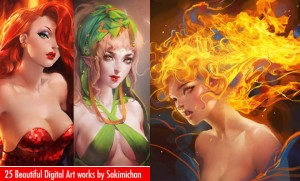 Colorful Digital Art works