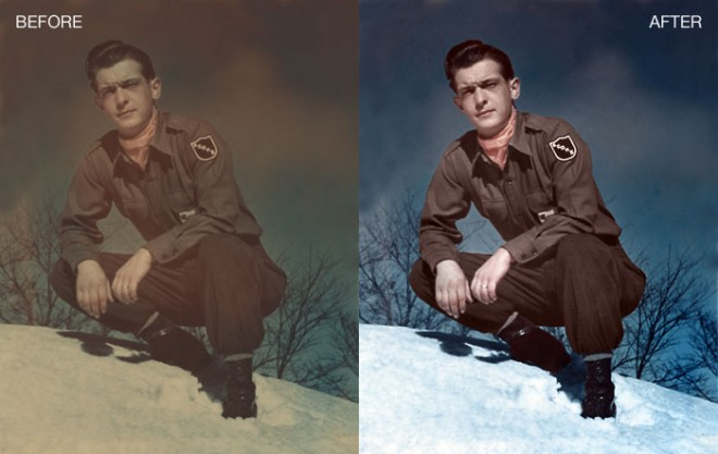 Coloring old, black and white photo in Photoshop – 25 Best Photoshop ...