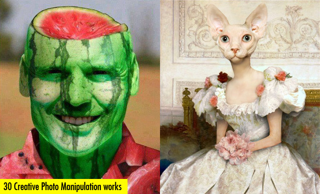 30 Creative and Funny Photo Manipulation works for your inspiration
