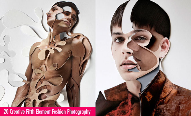 20 Creative Fifth Element Fashion Photography and Photo Collages by Damien Blottiere
