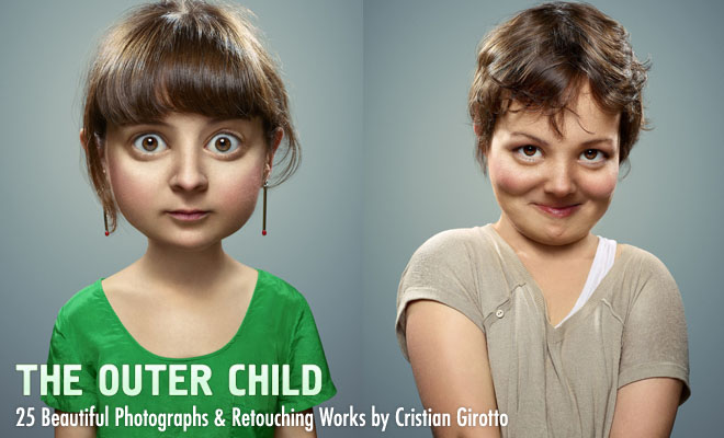 The Outer Child – 25 Beautiful Photographs and Retouching Works by Cristian Girotto