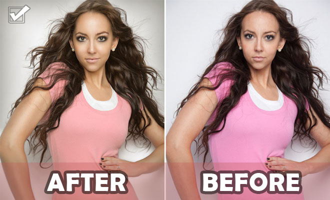 Portrait Photo Retouching works by Regina Pagles – See After Before Photos