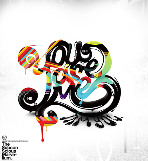 Creative Typography Graphic Design: 22 Awesome Typography Graphic Designs And Artworks For