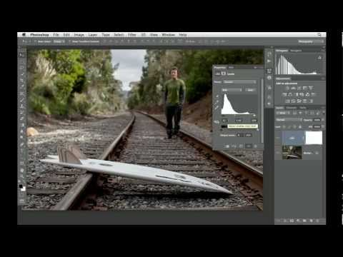Photoshop CS6: Working with Level controls