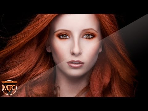 Professional Photoshop Extreme Makeover – The Fire Witch – By MTC