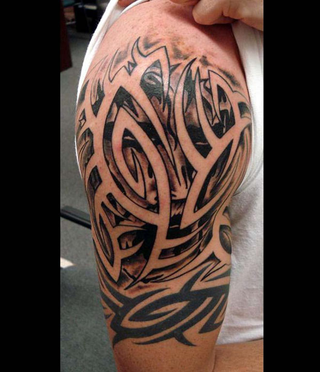 Tribal Tattoo For Arm: 30 Beautiful And Creative Tribal Tattoos For Men And Women