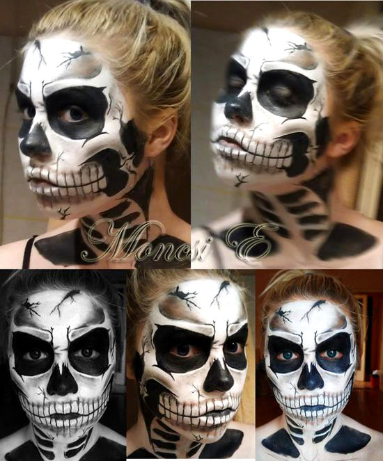 40 Beautiful Face Painting Ideas For Your Inspiration World Of