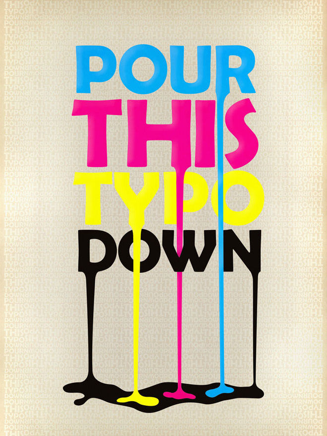 40 creative typography posters design examples for your