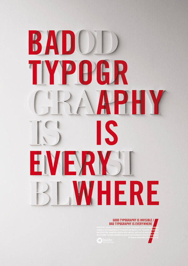 Design with typography