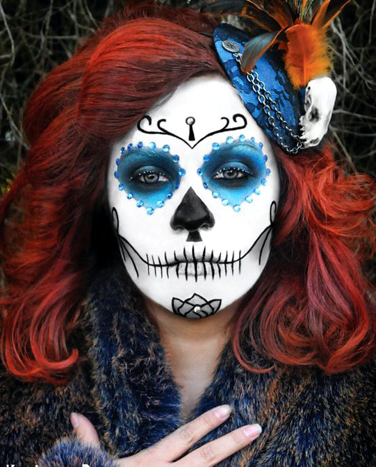 40 Beautiful Face painting Ideas for your inspiration - Best Halloween Face Painting Ideas