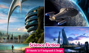Futuristic Sci-Fi Backgrounds