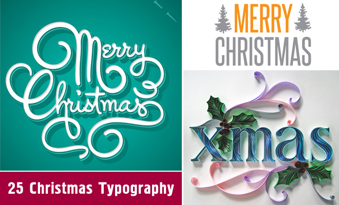 30 creative christmas typography designs for your greeting cards 30 creative christmas typography designs for your greeting cards world of arts m4hsunfo