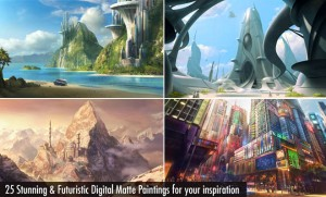 Futuristic Matte Paintings
