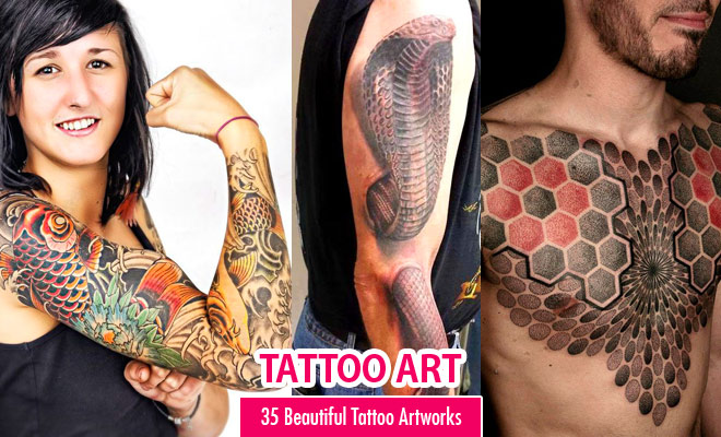 35 Beautiful Tattoo Designs and Tattoo Art Ideas for your inspiration
