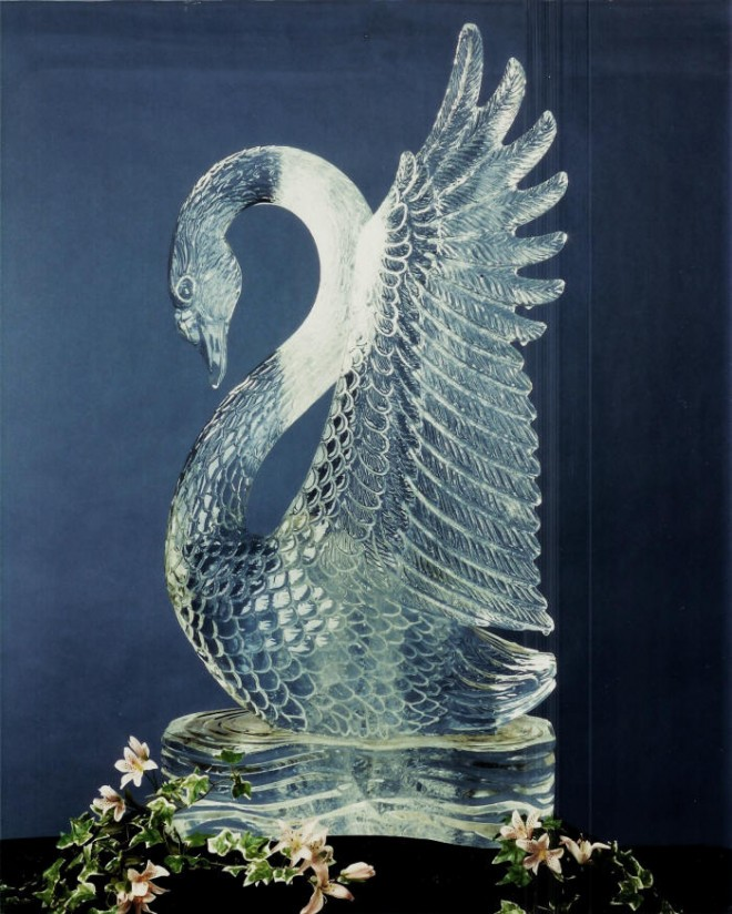 Beutiful ice sculptures from festivals around the