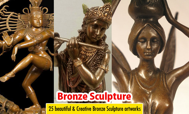 25 beautiful and Creative Bronze Sculpture artworks for your inspiration