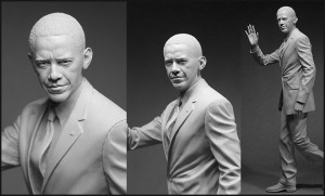 Barack Obama Sculptures