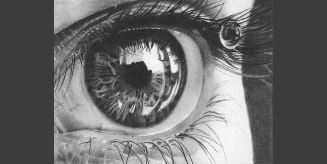 40 beautiful and realistic pencil drawings of eyes world of arts