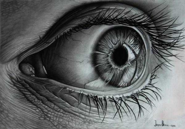 25 Beautiful And Realistic Charcoal Drawings For Your Inspiration U2013 World Of Arts