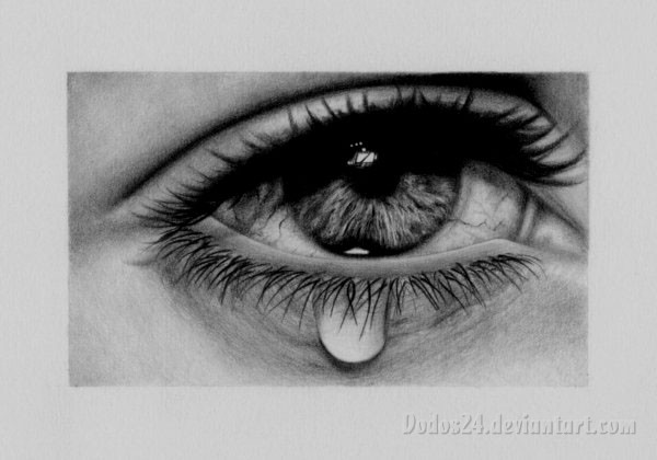 40 Beautiful And Realistic Pencil Drawings Of Eyes U2013 World Of Arts