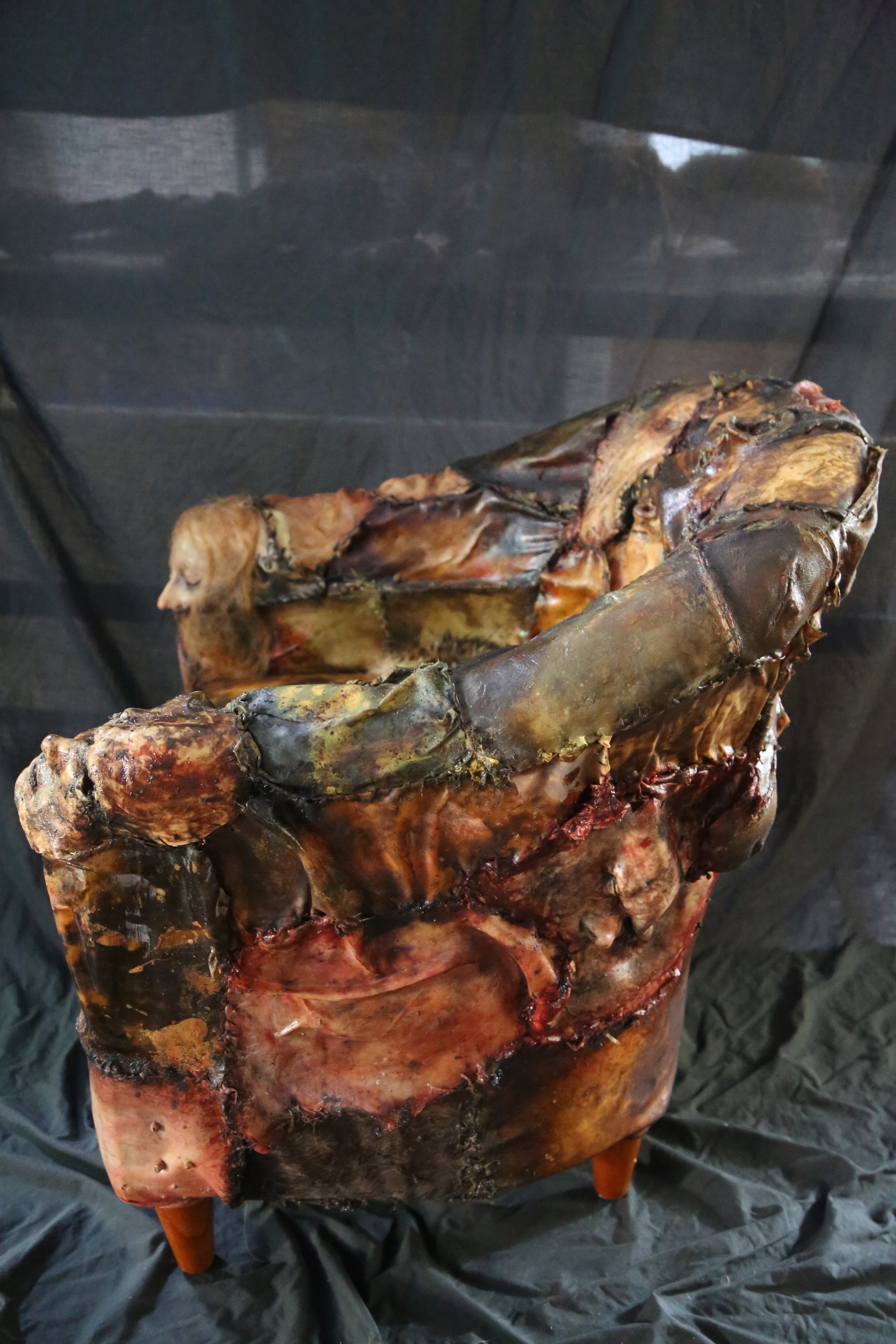 Surprising Ed Gein Lounge Human Skin Chair World Of Arts Pdpeps Interior Chair Design Pdpepsorg
