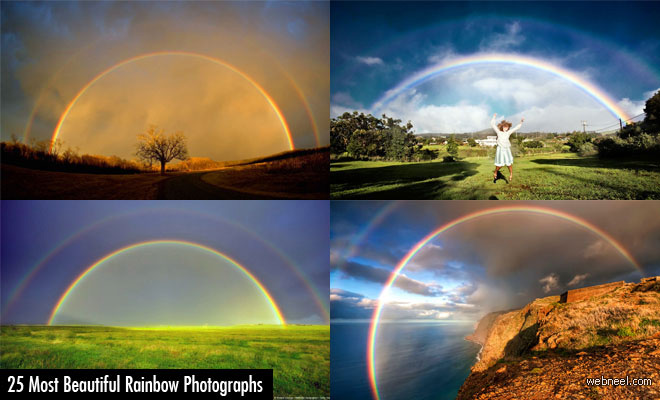 25 Of The Worlds Most Beautiful Rainbow Photography