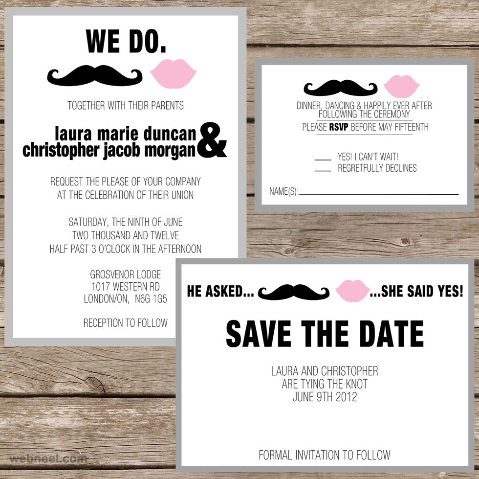 Wedding Card Designs Ideas: 25 Creative And Unusual Wedding Invitation Card Design