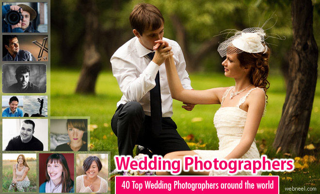 40 Top Wedding Photographers from around the world