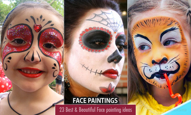 50 Beautiful Face painting Ideas for your inspiration – part 2