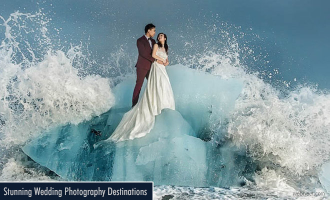 Exotic Locations and Stunning Destination Wedding Photography from Around the World