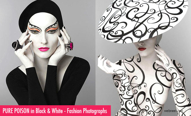 Pure Poison in Black and White – 15 Awesome Fashion Photographs by PatrizioDiRenzo
