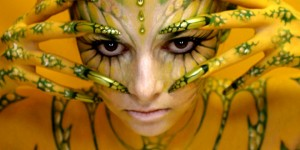 24 Mind-Blowing Body Painting Artworks from World Body Painting Festival