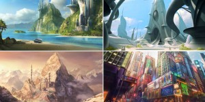 25 Stunning and Futuristic Digital Matte Paintings for your inspiration