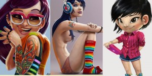 Stunning Digital Illustrations and Character Designs by Salvador Ramirez Madriz