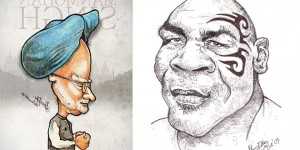 Caricatures - From Artist Bharat KV